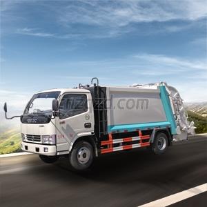 压缩垃圾车图片
